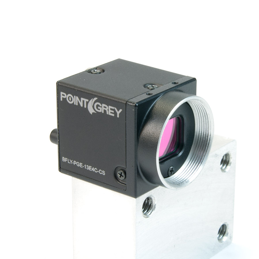 Point Grey Blackfly 1.3 MP Color GigE Research Camera - KIT-CAM-BLACKFLY-4MM