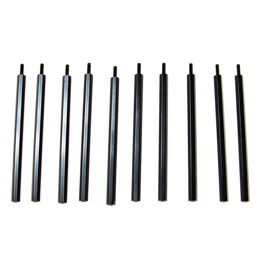 10x 100mm Aluminum M3 Standoff M/F 100mm, metal, Aluminum, M3, Standoff, M/F, male to female, male, female, extension