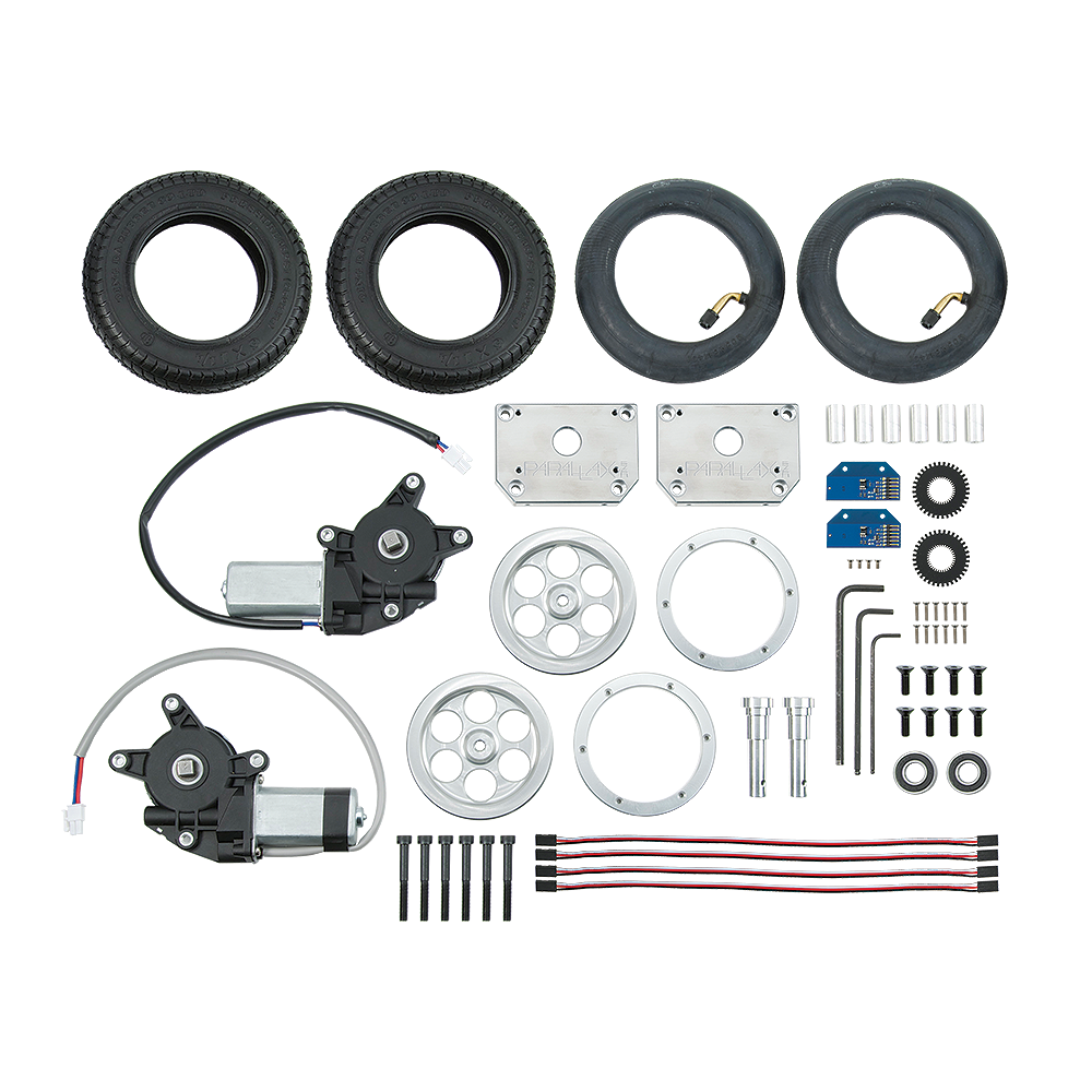 Motor Mount & Wheel Kit with Position Controller - PX-28962