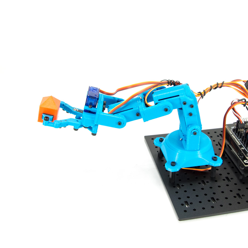 RobotGeek Snapper Mini - 9G 3D Printed Robot Arm - RG-SNAPPER-MINI