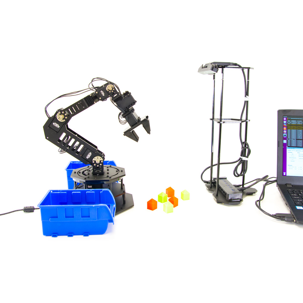 WidowX Robot Arm Kit w/ ROS - KIT-WIDOWX-ARM-COMP