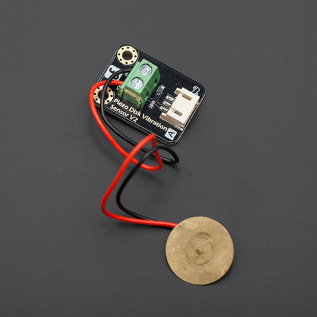 Gravity: Digital Piezo Disk Vibration Sensor Digital, Piezo, Disk, Vibration, Sensor, dfrobot