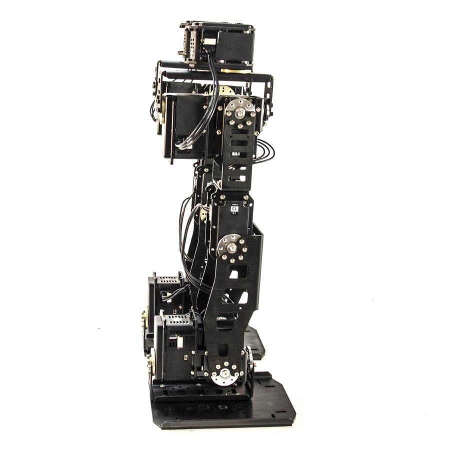 Custom mx t dof humanoid robot leg