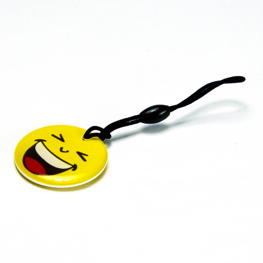 RFID EM4200 Happy Face Luggage Tag  RFID EM4200 Happy Face RFID Luggage Tag , 125hz tags, RFID tags, RFID fob, RFID ring, Thin RFID card