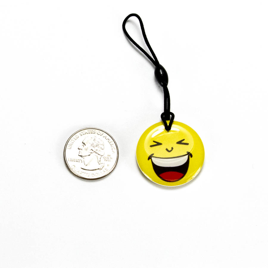 RFID EM4200 Happy Face Luggage Tag  - RFID-HPPYFOB
