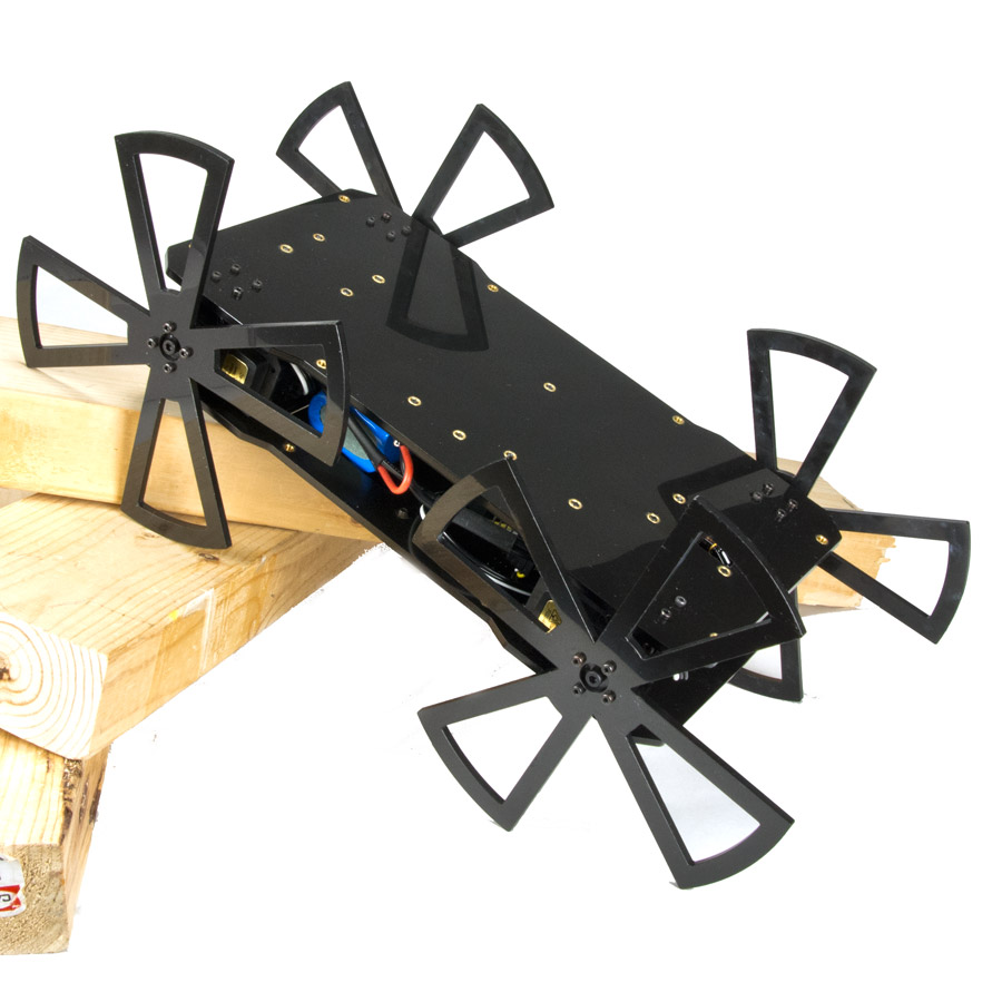 Robotgeek whegly arduino compatible wheg robot kit