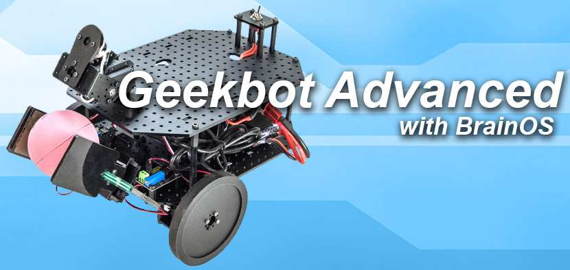 geekbot advanced with brainos