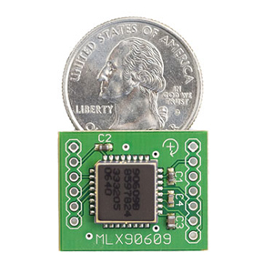 Gyro Breakout Board - MLX90609 - 150 degree/sec