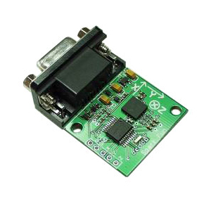 Serial Accelerometer Tri-Axis v5 - Dongle