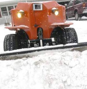 robot plow