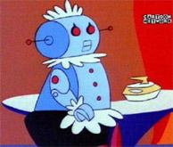 Jetsons robot rosie