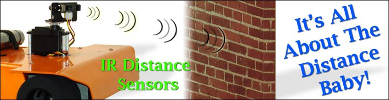 Robot IR Distance Sensors