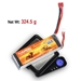 Floureon 11.1V 4500mAh 30C LiPo Battery - BAT-T460