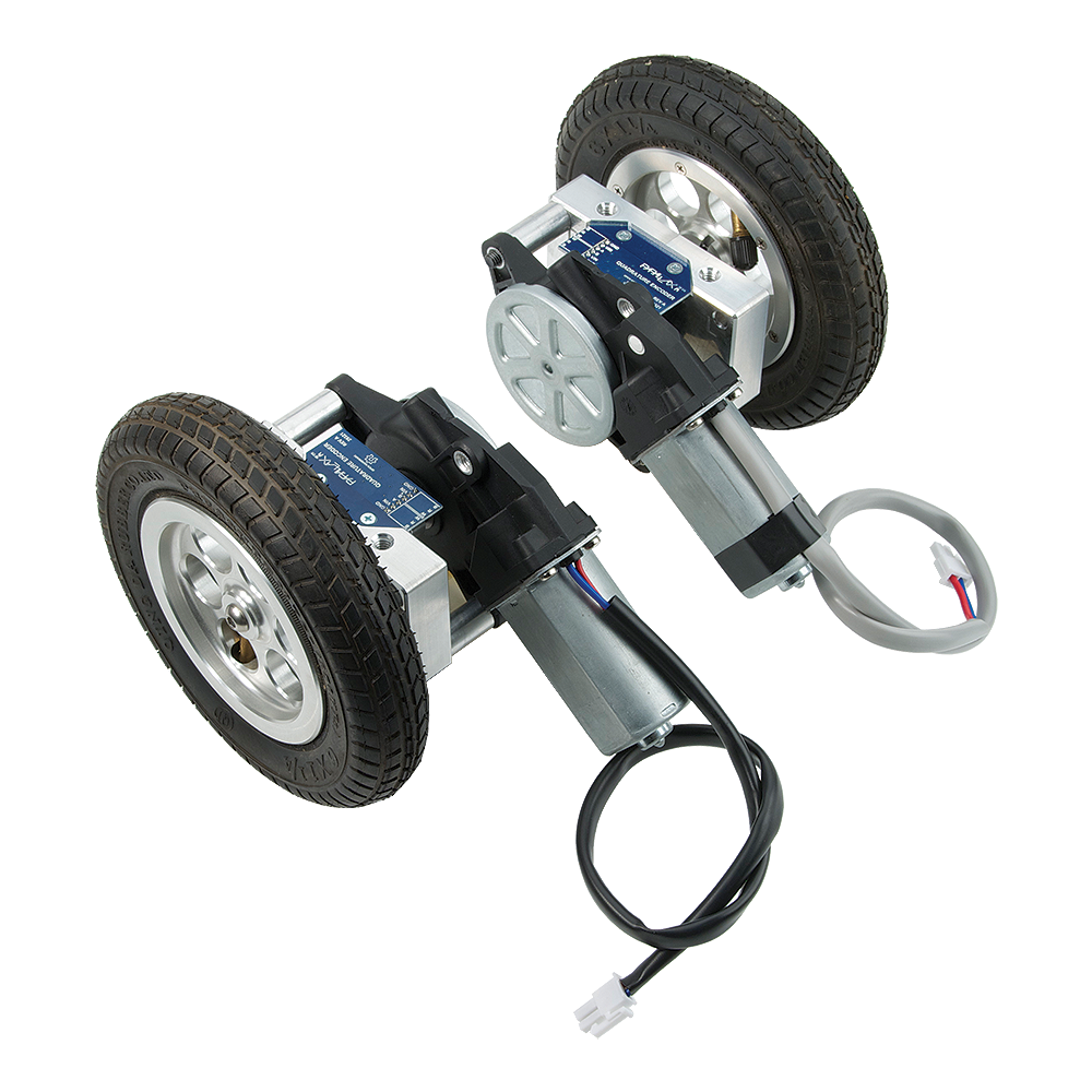 Motor Mount & Wheel Kit with Position Controller