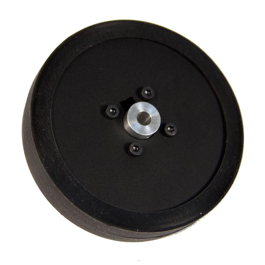 Single wheel and hub for Robot motors and wheels