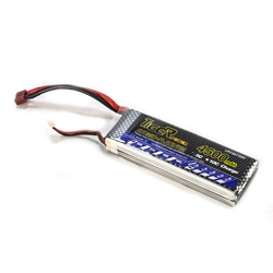 Tiger 7.4V 4500 MAH 30C LiPo Battery with T Plug Lion, 7.4V, 4500, MAH, 30C, T Plug, dean, connector, lithium, ion, volt, 3c, cell, 3, robot, battery, tiger, lipo, polymer