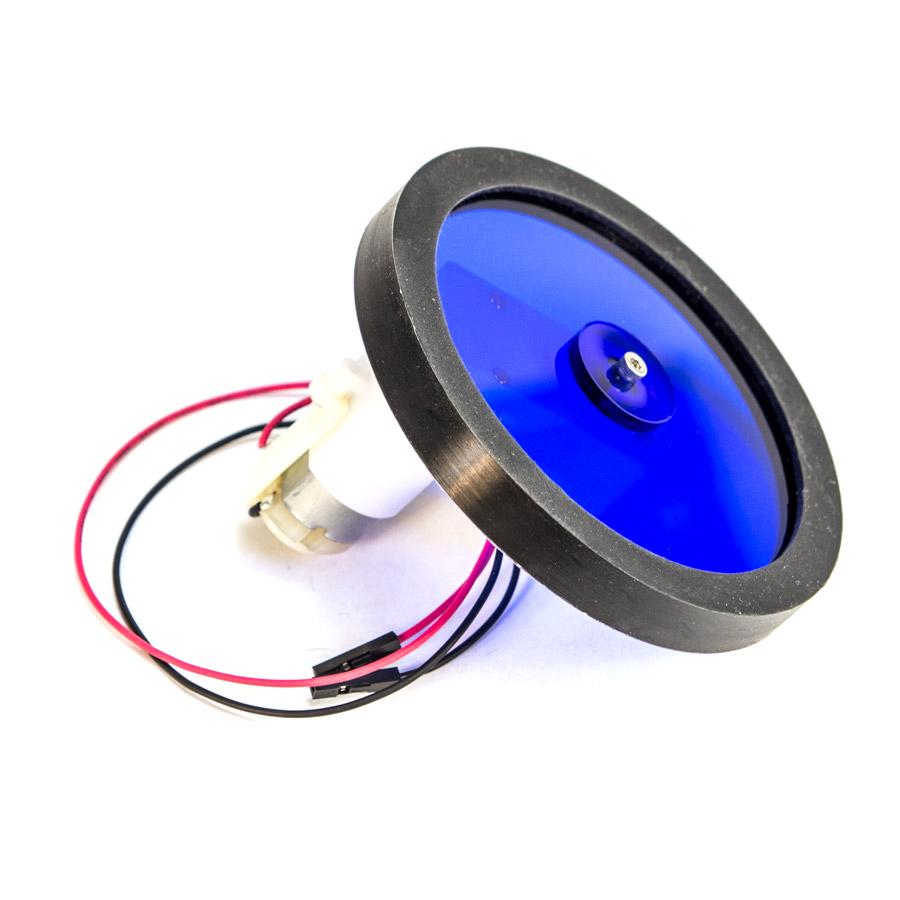 Gear motor w wheel set for Robot motors and wheels