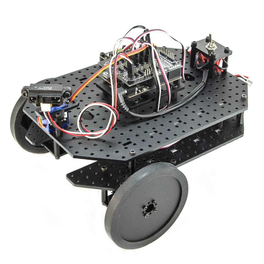 RobotGeek Geekbot Basic Kit Robot Geekbot Rover Comprehensive Kit, Robot Rover kit, Robotic Rover, basic