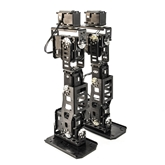 Custom MX-106T 6 DOF Humanoid Robot Leg Kit Set Custom, Frame, Dual Axis, Dynamixel, Robotis, Servo, Bracket, EX-106+, Robot, Joint, Leg, 6 DOF, Degree of Freedom