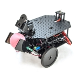 Geekbot Advanced with BrainOS Geekbot, Advanced, BrainOS, geekduino, arduino, raspberry pi, robot, rover, robotgeek, trossen, geek, bot