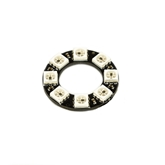 NeoPixel Ring - 8 x WS2812 5050 RGB LED NeoPixel, neo, pixel, Ring, 8, WS2812, 5050, RGB, LED, display, light, indicator