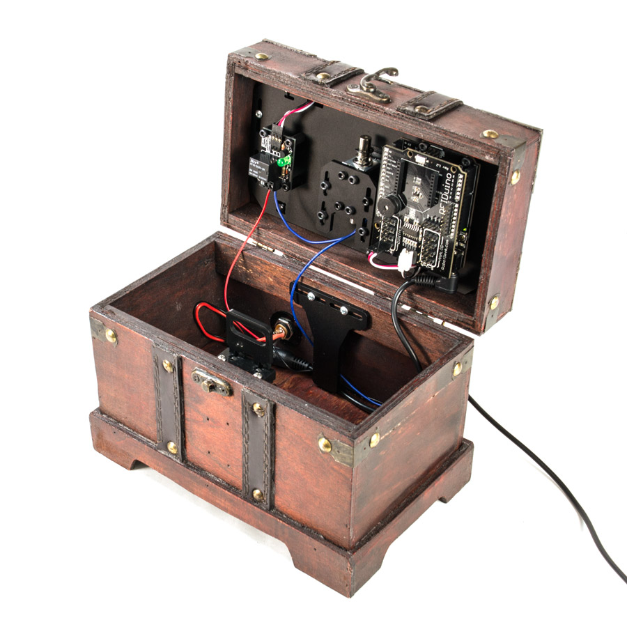 Robotgeek Rfid Lockbox Kit