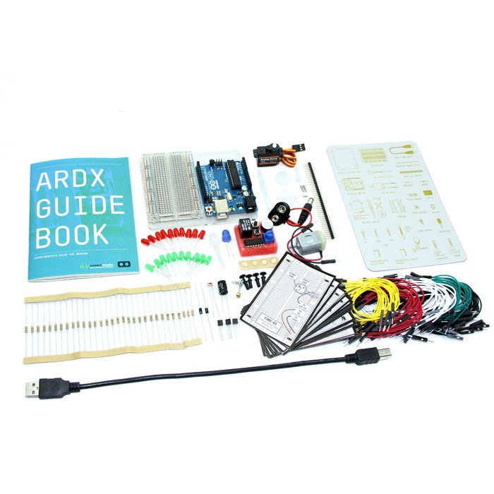 ARDX - The Starter Kit for Arduino ARDX, Starter Kit, Arduino, grove, kit, pack, seeed