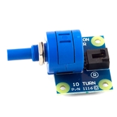 Phidgets Multi-turn Rotation Sensor Phidgets Multi-turn Rotation Sensor, Phidget Multi-turn Rotation Sensor