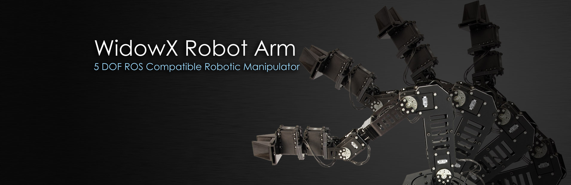 WidowX Robot Arm 6 DOF Robotic Manipulator