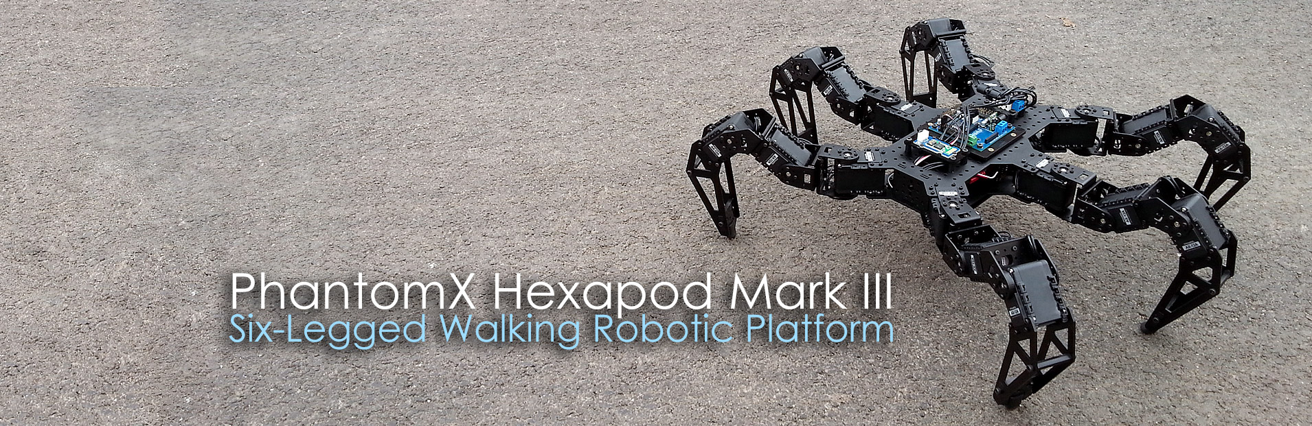 Interbotix Labs PhantomX Hexapod MKIII