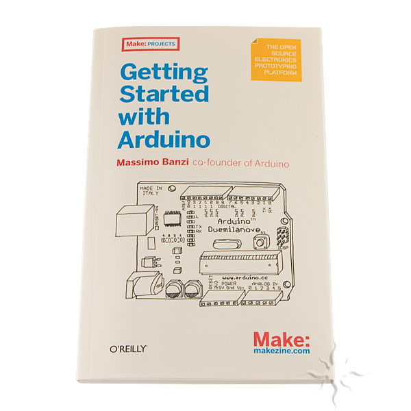 Getting Started with Arduino Book, 2nd Edition Getting Started with Arduino, Arduino, DIY, Book