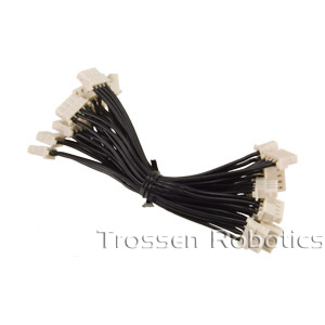 Dynamixel 100mm 4 Pin Cable 10 Pack
