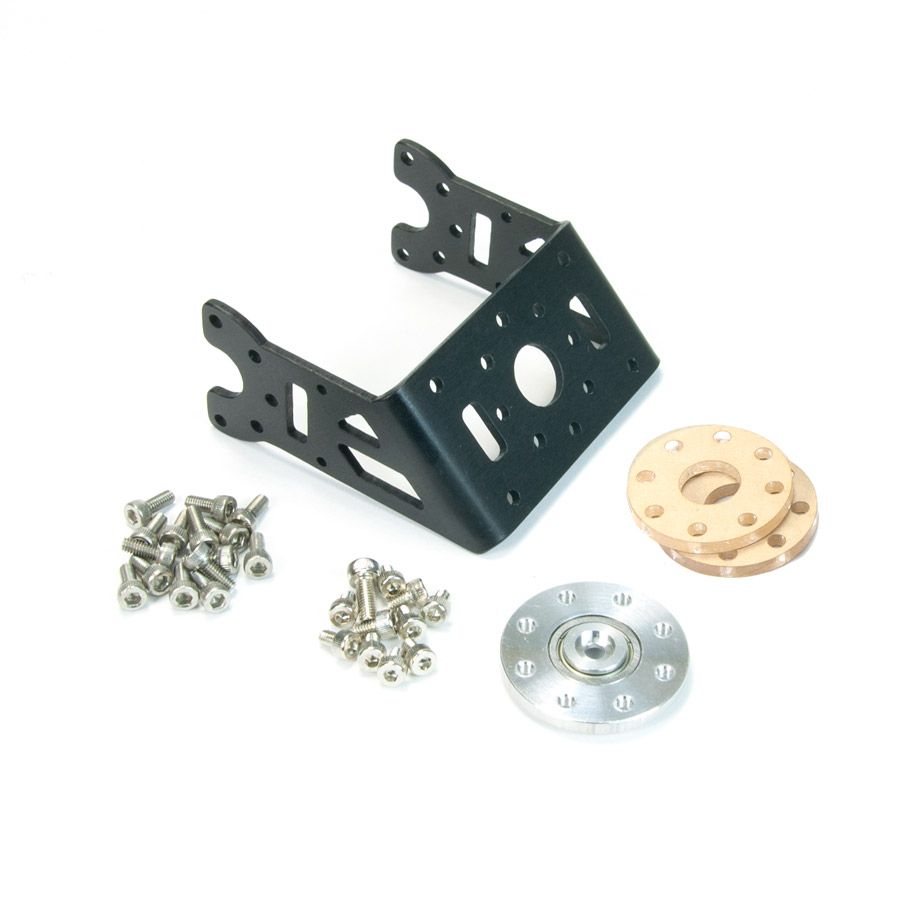MX-64/106 Custom 45 Degree Bracket Set Custom, Frame, OF-64H45, Dynamixel, Robotis, Servo, Bracket, RX-64, MX-64, MX-106