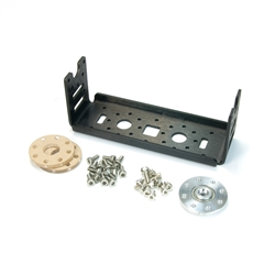MX-64/106 Custom X-Wide Bracket Set Custom, Frame, OF-64HXW, Dynamixel, Robotis, Servo, Bracket, RX-64