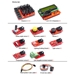 Electronic Brick Starter Kit with Arduino - KIT-ARD-EB