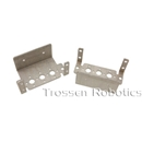 Aluminum Multi-Purpose Large Servo Bracket Two Pack (BLACK) Aluminum, Multi-Purpose, Large, Servo, Bracket, ASB-201B