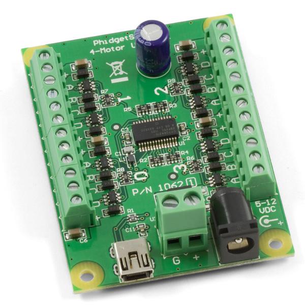 Phidget Stepper Motor Controller