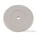 35mm White RFID Disk w/ hole