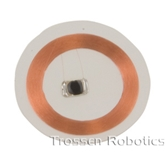 Clear thin RFID lamination disks (25mm)