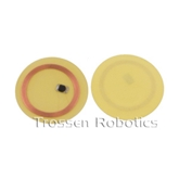 Clear thin RFID lamination disks (25mm) - Sticker Backing