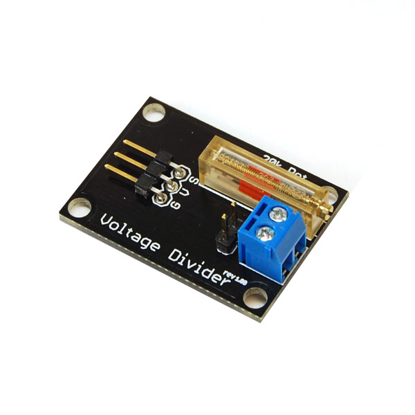 RobotGeek Voltage Divider RobotGeek Voltage Divider, Robot Geek Voltage Divider, Voltage Divider, FSR Voltage Divider, Force Sensitive Resistor Voltage Divider, FSR Interface, FSR Analog Interface