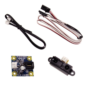 GP2D12 Alternative IR Distance Sensor Kit (10-80 cm) - 1 sensor GP2D12 Alternative IR Distance Sensor Kit (4-30 Inch) - 1 sensor