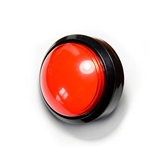 Huge Red Panic-Fire Button Huge, Red, Panic, Fire, Button, arduino, freeduino, seeeduino