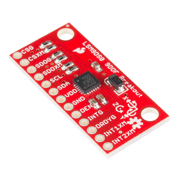 9 Degrees of Freedom IMU Breakout - LSM9DS0