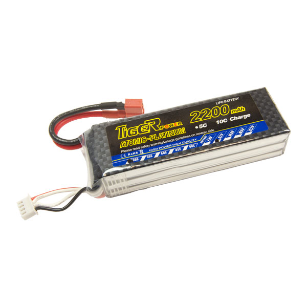 3s 11.1V 2200mAh 30C LiPo Battery - BAT-11V2200