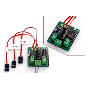 Sabertooth dual 5A motor driver for R/C