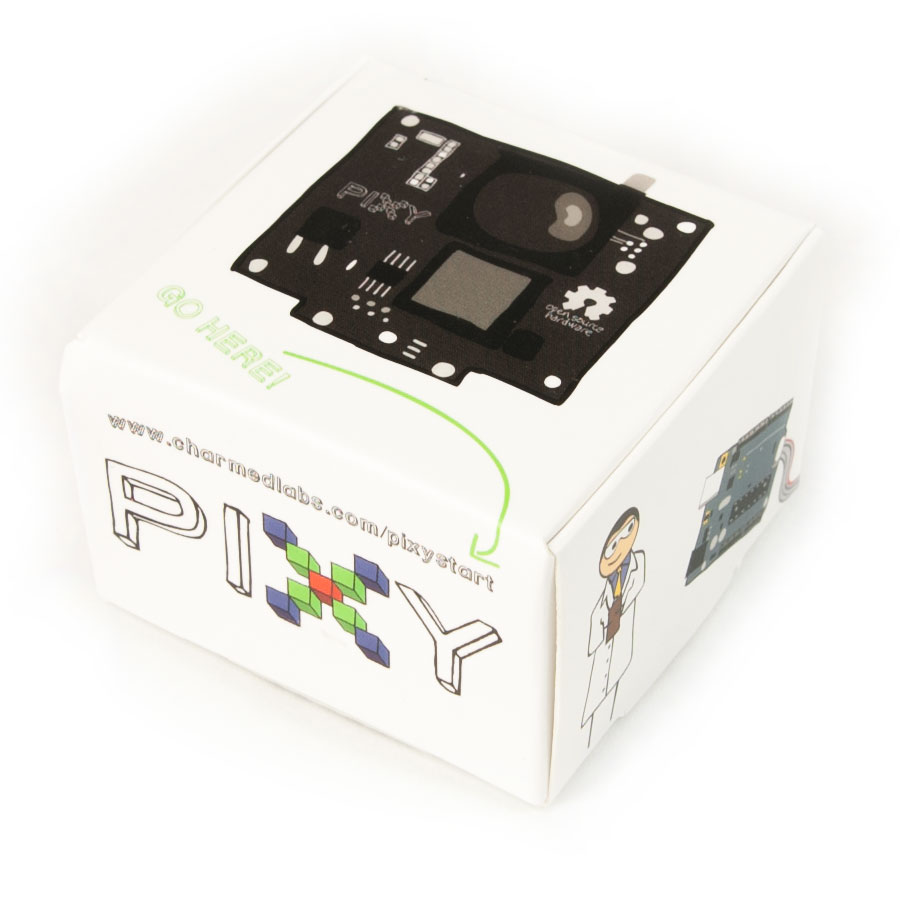 Pixy cam boxed photo