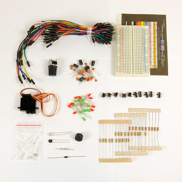 Basic Experimenters Kit with Arduino - KIT-ARD-BE