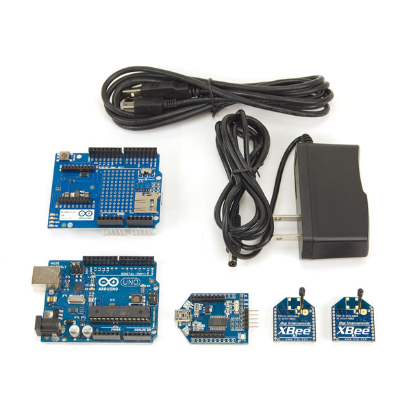 Xbee Wireless Kit with Arduino Xbee Wireless Kit with Arduino