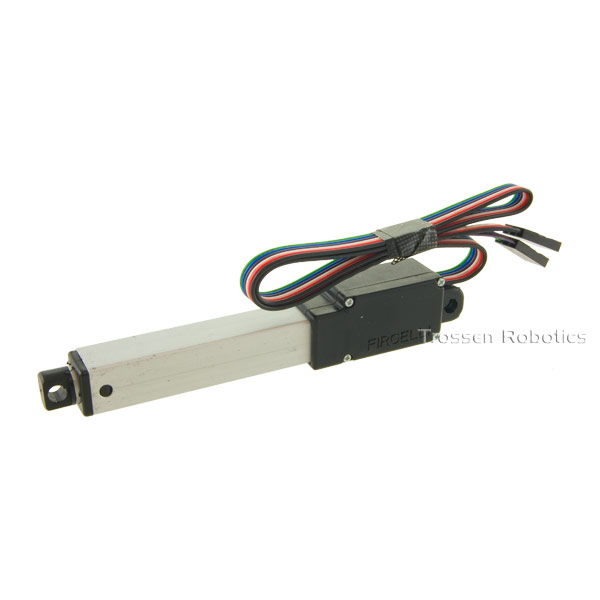 L12 50mm 100:1 Linear Actuator Firgelli Linear Actuator, mini linear actuator, small linear actuator, small arduino linear actuator